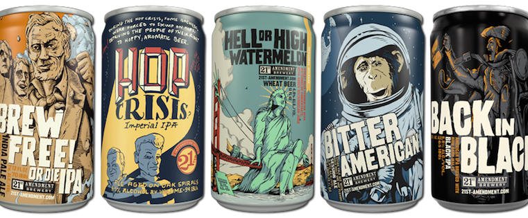 How Great Designs Made Craft Beer Bottles And Cans Into Works Of Art