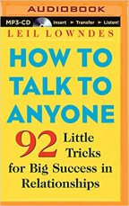 How do you talk to anyone?