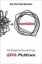 How to have disciplined pursuit of less?