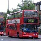 Why do late buses cluster in threes?