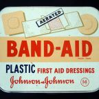 How was the band-aid invented?