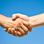 Why do we shake hands?