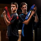 How did Nerf become the go-to toy gun for kids?
