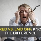 Is there a difference to be laid off or fired?